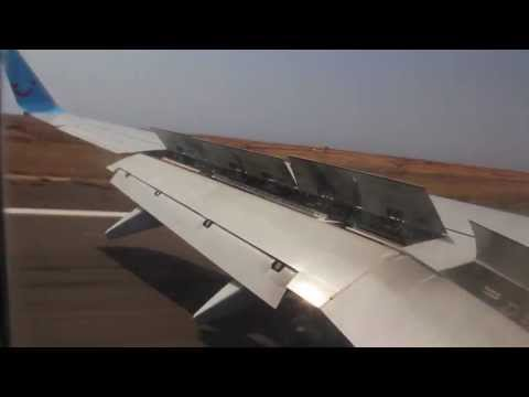 TUIfly Nordic Boeing 737-800 hard landing to Sal, Cape Verde