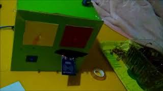 Arduino Uno Turnike Sistemi RFID Kart Uygulaması Video