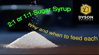 1:1 or 2:1 When and Why to Feed Which Syrup