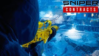 ELIMINATING A VIRUS THREAT IN COMPLETE STEALTH in Sniper Ghost Warrior Contracts
