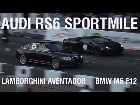 World fastest Audi RS6 by Sportmile beats Lamborghini Aventador