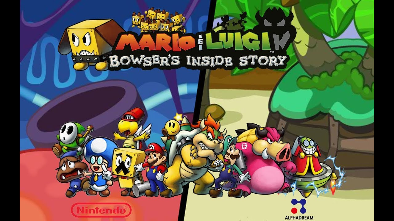 Image result for mario and luigi inside story