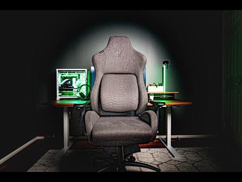La nouvelle chaise de jeu de Razer est presque parfaite | Tissu Razer Iskur
