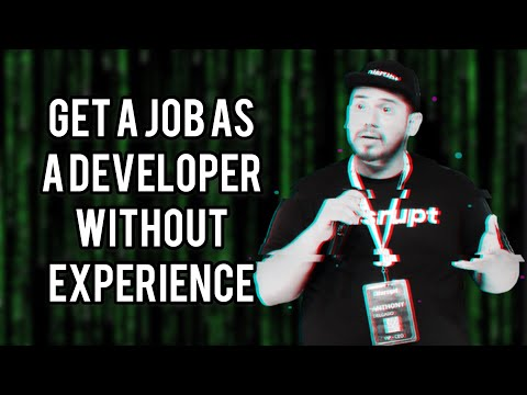 🤔 How to get a web developer job without experience 😱