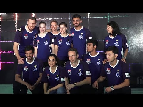 Taapsee Pannu Promotes Her Team 'Pune 7 Aces'  @ Phoenix City Mall ¦ PBL 2018
