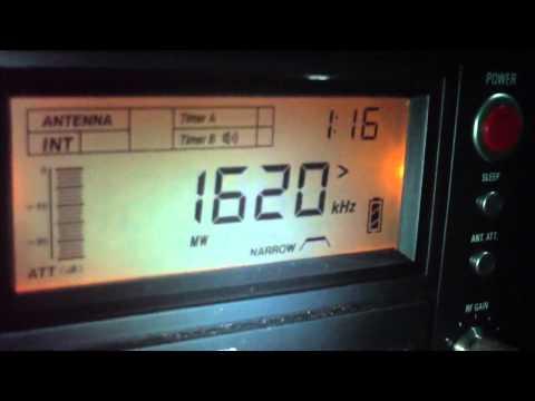 1620 khz Radio Mar del Plata ,Buenos Aires,Argentina AM DX 2.400 KM