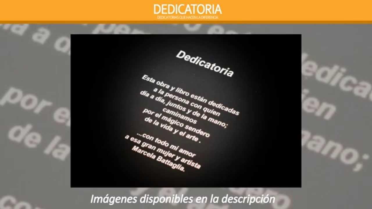 foto de Dedicatorias de proyectos - YouTube