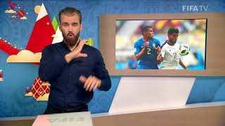 FIFA WC 2018 - BRA vs. CRC – for Deaf and Hard of Hearing - International Sign