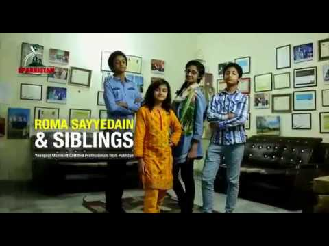 CERTIFIED ETHICAL HACKER v9 at the age of 13Year 6 month Syedain Siblings, Rooma syedain, Inam ali s