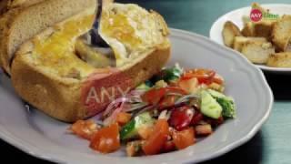 Рецепт жюльена из буженины в хлебе со свежими овощами от  ANY.time