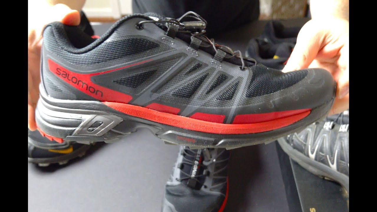 check out 965e1 d7d9d Salomon Wings Pro 2 Trail Running Shoes vs Speedcross and Fellraiser