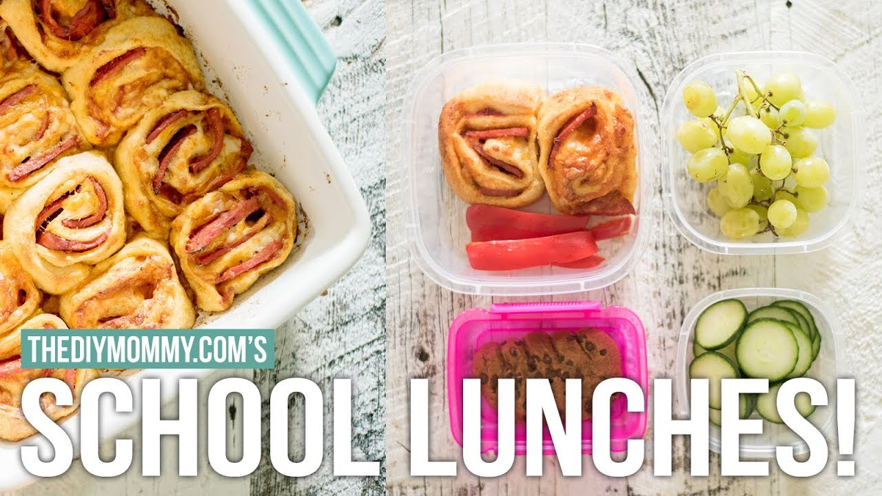 make ahead school lunch ideas vlogust day 16 youtube