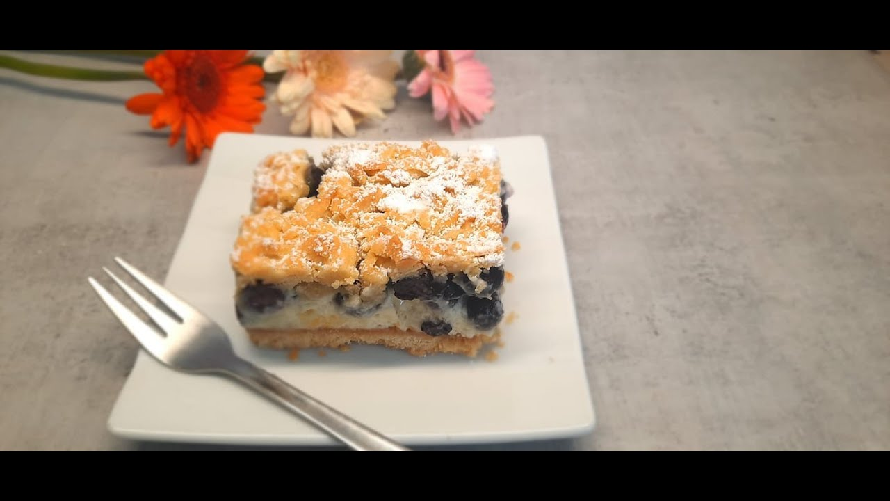 Download Jagodowa chmurka /Kruche ciasto z jagodami