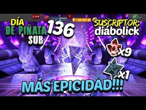 Día De Piñata (SUB) 136 | Y La Epicidad En Las Aperturas Continúa | Apertura Masiva - MCOC
