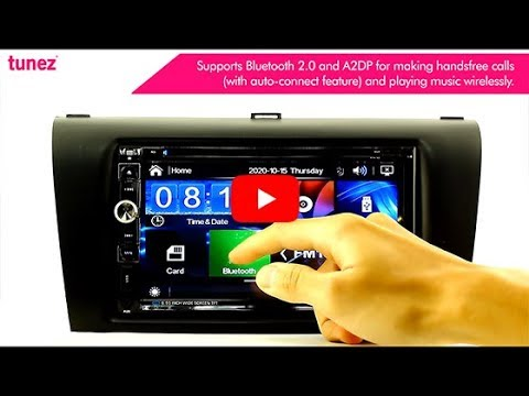 "7"" Car DVD USB Player For Mazda 3 Year 2003-2008 BK Series Stereo Radio Head Unit MP3 MP4 MKV 1080p"