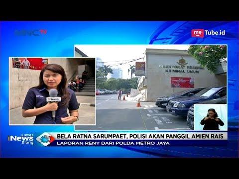 Polisi akan Periksa Amin Rais Soal Hoaks Penganiayaan Ratna Sarumpaet - LIS 05/10