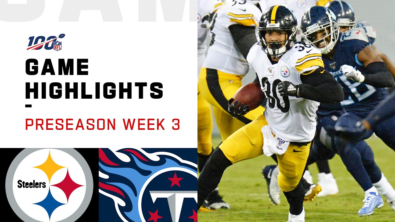 Steelers Beat Titans 18-6 In NFL Preseason Game [VIDEO