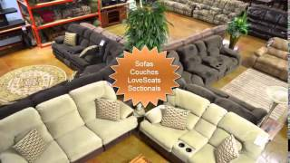 Jonesboro Furniture Living Room and Dining Room Sets in our Jonesboro AR FFO Outlet Store