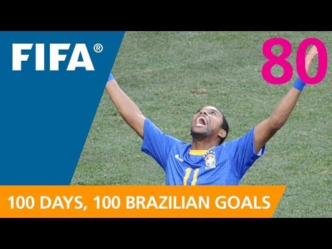 100 Great Brazilian Goals: #80 Robinho (South Africa 2010)