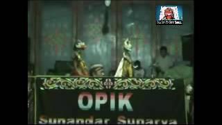 Rahwana Gugur  -  Wayang Golek Opik Sunandar Sunarya