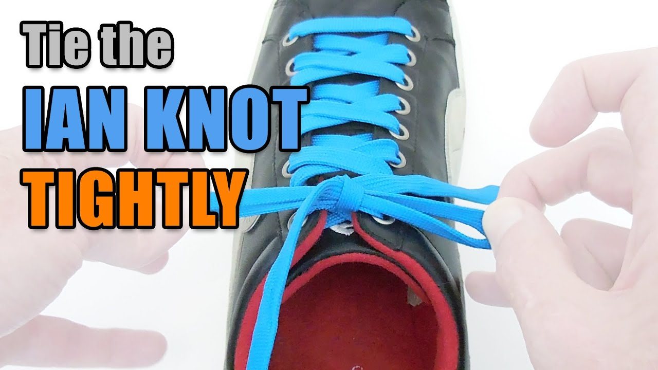 How To Tie The Ian Knot Tightly Professor Shoelace Youtube A Double Windsor Diagram Pictures 3