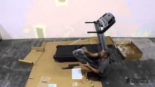 proform pro 2000 treadmill assembly