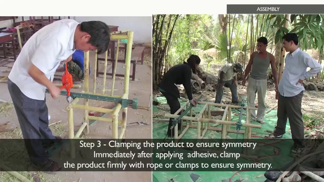 Making Amazing Furniture From Bamboo