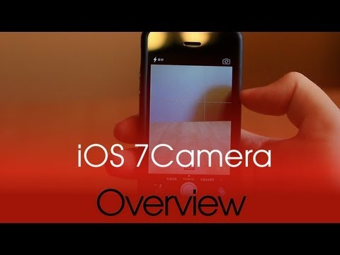 A look at the changes to Apple's new Camera app in iOS 7 [Video]