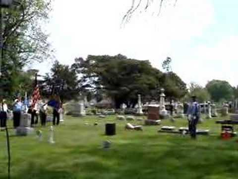 Memorial Day Ceremony and Greenhill Cemetery