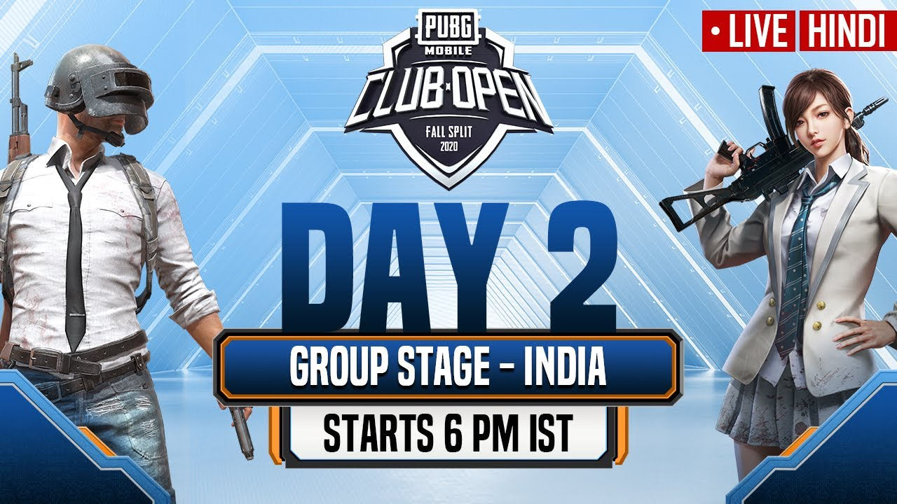 [Hindi] PMCO India Group Stage Day 2 | Fall Split | PUBG MOBILE CLUB OPEN 2020