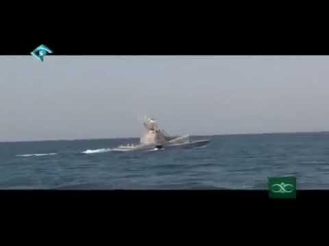 Iran IRGC Tondar class missile craft ناوچه موشك انداز تندر ايران