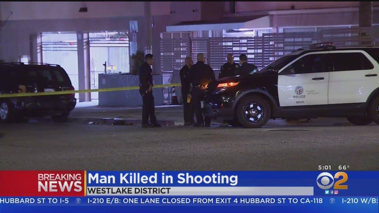 Man Killed In Westlake District Shooting, Gunman At Large