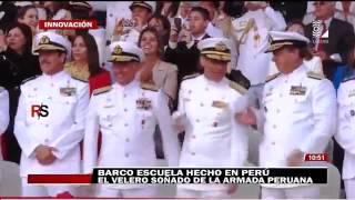 Reporte Semanal (Canal 2): Buque Escuela hecho en Perú: El velero soñado de la Armada peruana