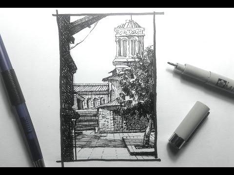 Urban Sketching Series Pt 1 | Some basics