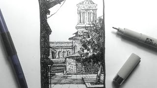 Urban Sketching Series Pt 1 | Some basics