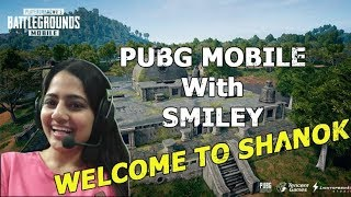 INDIAN BAHU PLAYS PUBG MOBILE~SMILEY