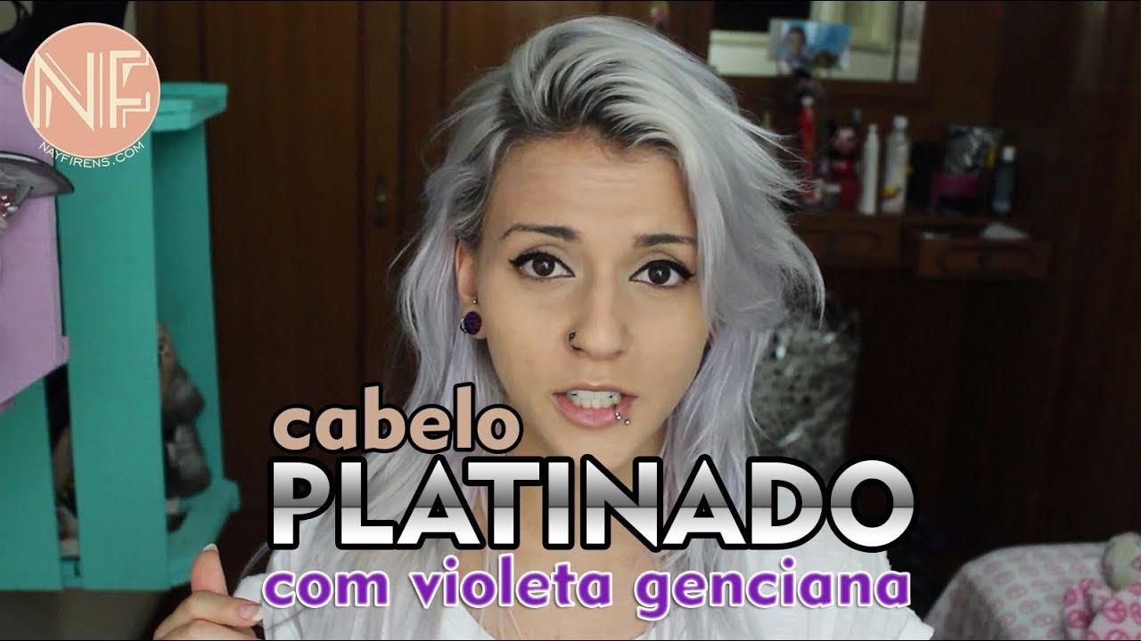 Top Tutorial] Como platinar o cabelo em casa com Violeta Genciana  RR24