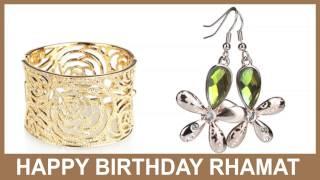 Rhamat   Jewelry & Joyas - Happy Birthday