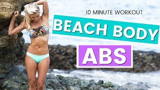 How To Get Beach Body Abs   Rebecca Louise