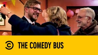 Iain Stirling Crashes His Parents' Surprise Anniversary Party | The Comedy Bus