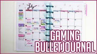 Gaming Bullet Journal Flip Through