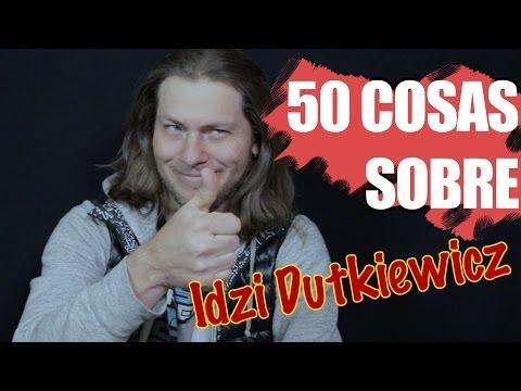 #50CosasSobreMi Idzi Dutkiewicz  (Iron Man)