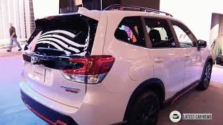 2019 Subaru Forester Sport AWD - Exterior and Interior Walkaround  in HD 1080p