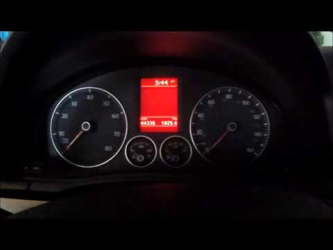 Reset/Clear Service Light on Volkswagen (09 VW EOS)