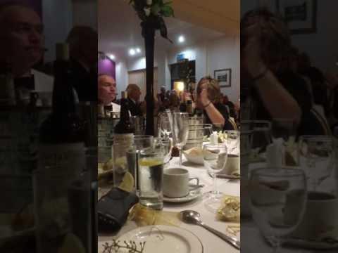 Great Captains Speech, Erewash Valley Golf Club, Dinner Dance 2016