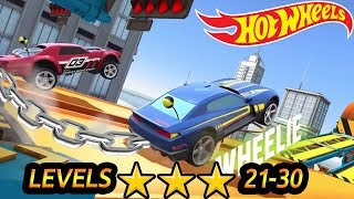Hot Wheels Race Off - Level 20 to 30 All Levels 3 Stars ⭐⭐⭐