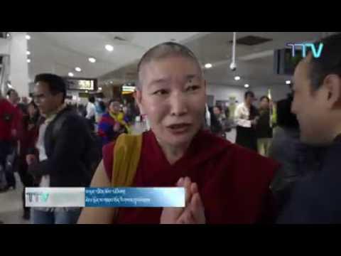 Members of Tibetan community in Melbourne welcomes President Dr Lobsang Sangay, Central Tibetan Adm