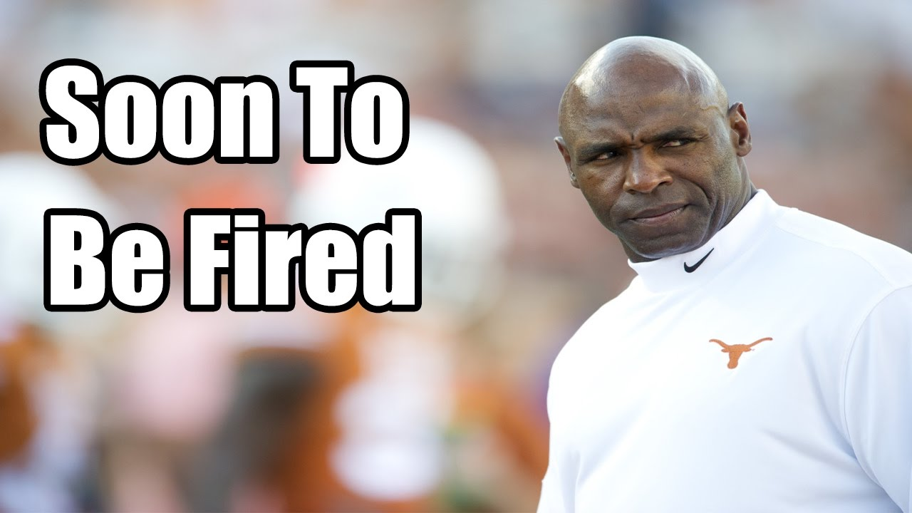 Texas To Fire Charlie Strong