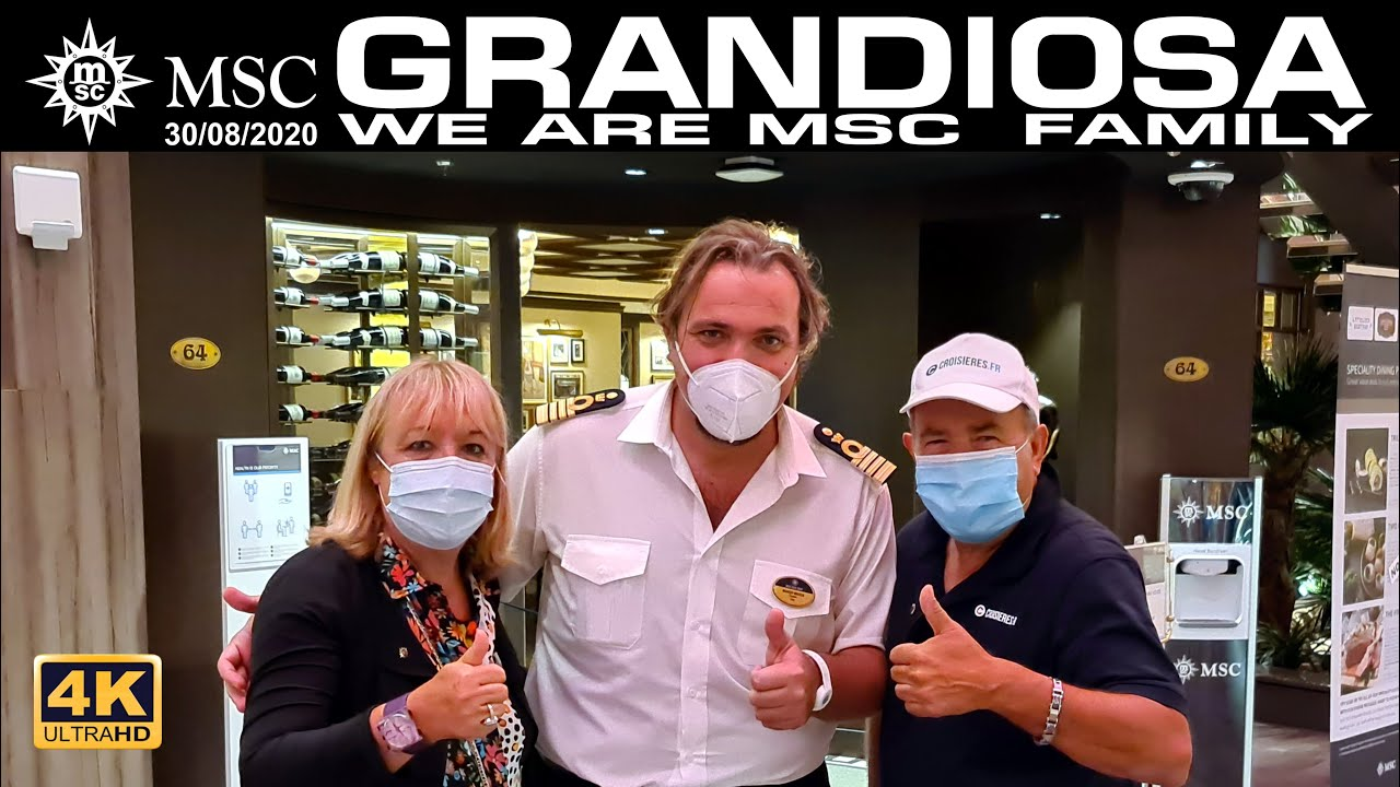 COSTICRUISE & MSC GRANDIOSA FAMILY 2020 - YouTube