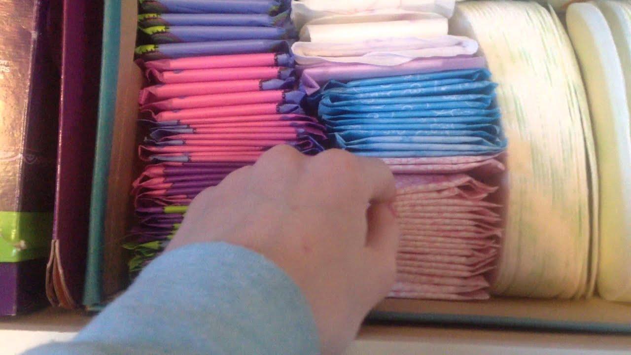 Beau Panti Liner, Tampons And Wipes Vidio Period Storage U By Kotex Carefree  Exedra   YouTube